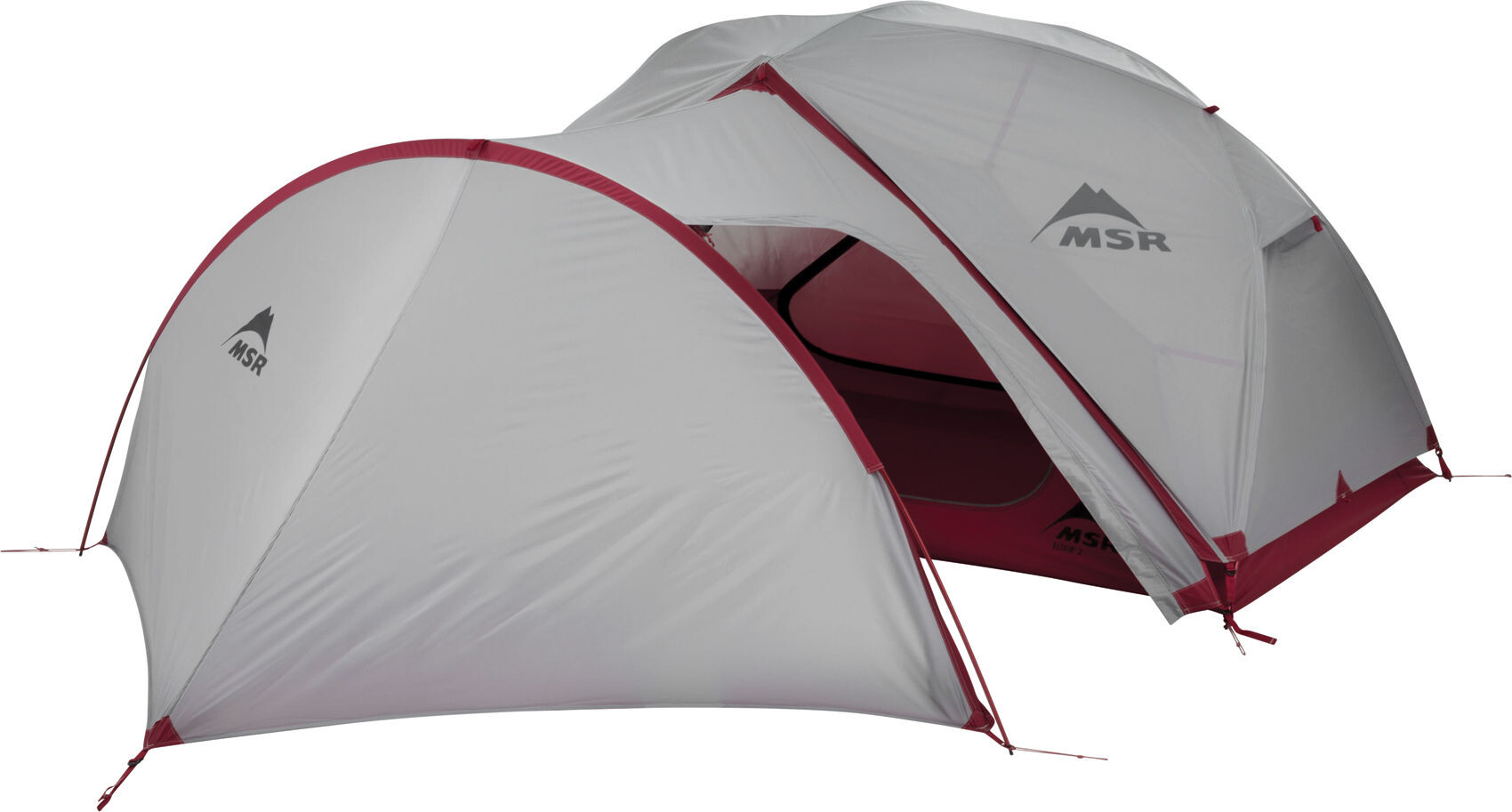 Msr Gear Shed V2 Tente Gray Red Sur Campz